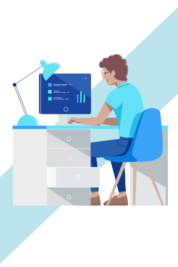 Landing page graphic-Student