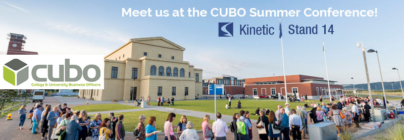 Meet us at the CUBO conference - Stand 14.